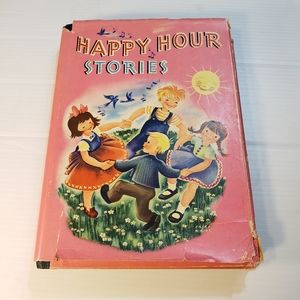 Vintage Whitman Publishing Happy Hour Stories Book